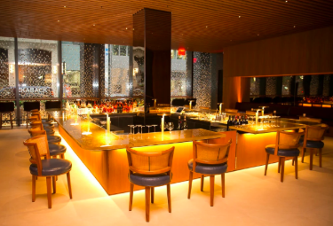 THE FOUR SEASONS RESTAURANT