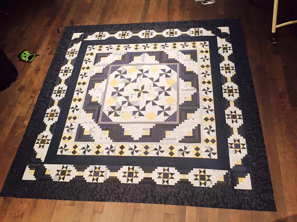 One of many of the quilts Wendy has created.