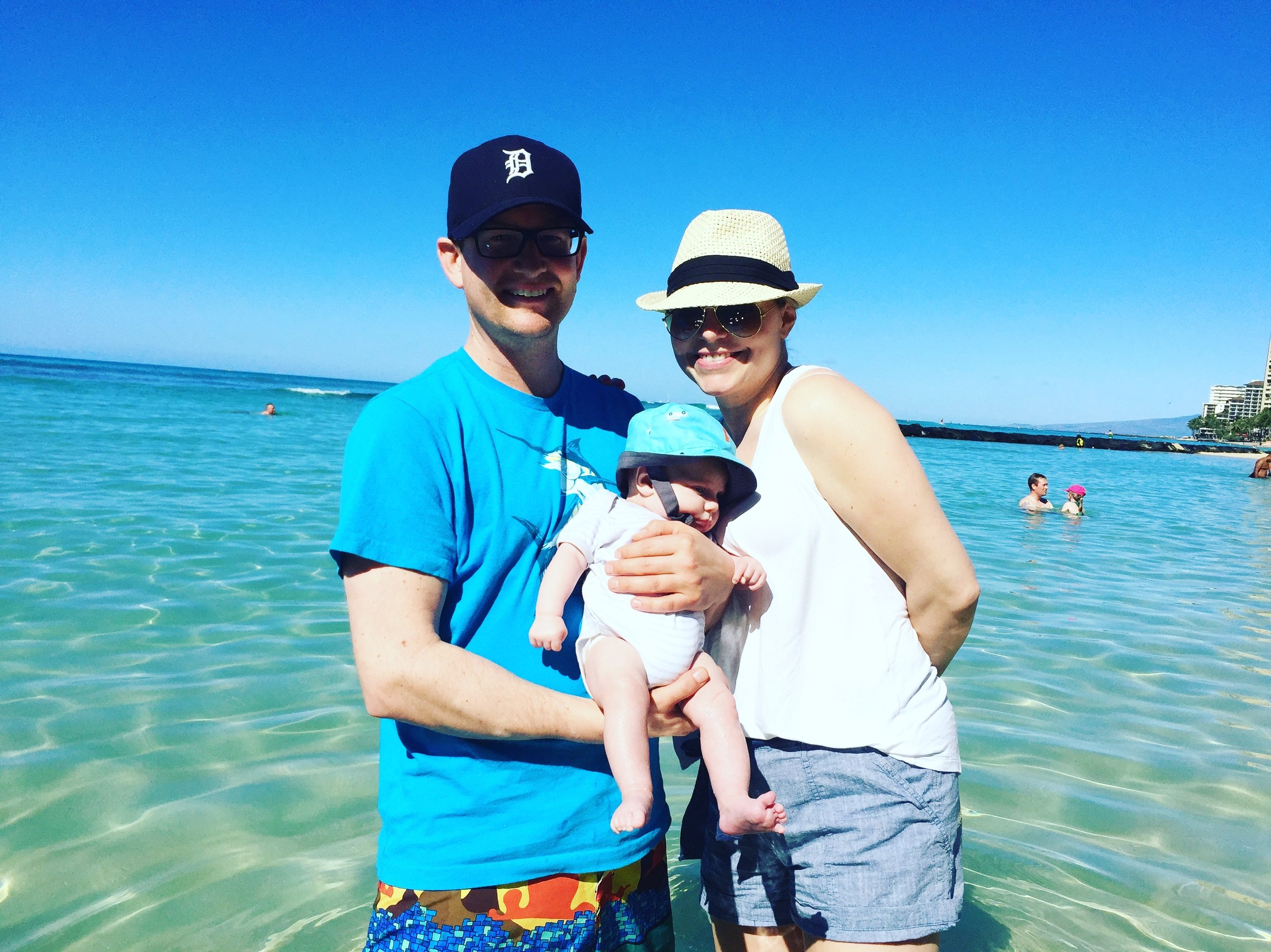 First family vacation - Honolulu, Hawaii, March 2017