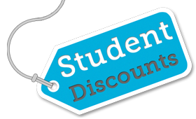 Are you a full-time student?  If so, check out our deals JUST FOR YOU