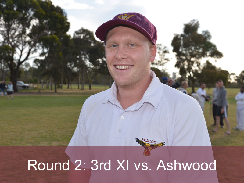 Round 2: 3rd XI vs. Ashwood