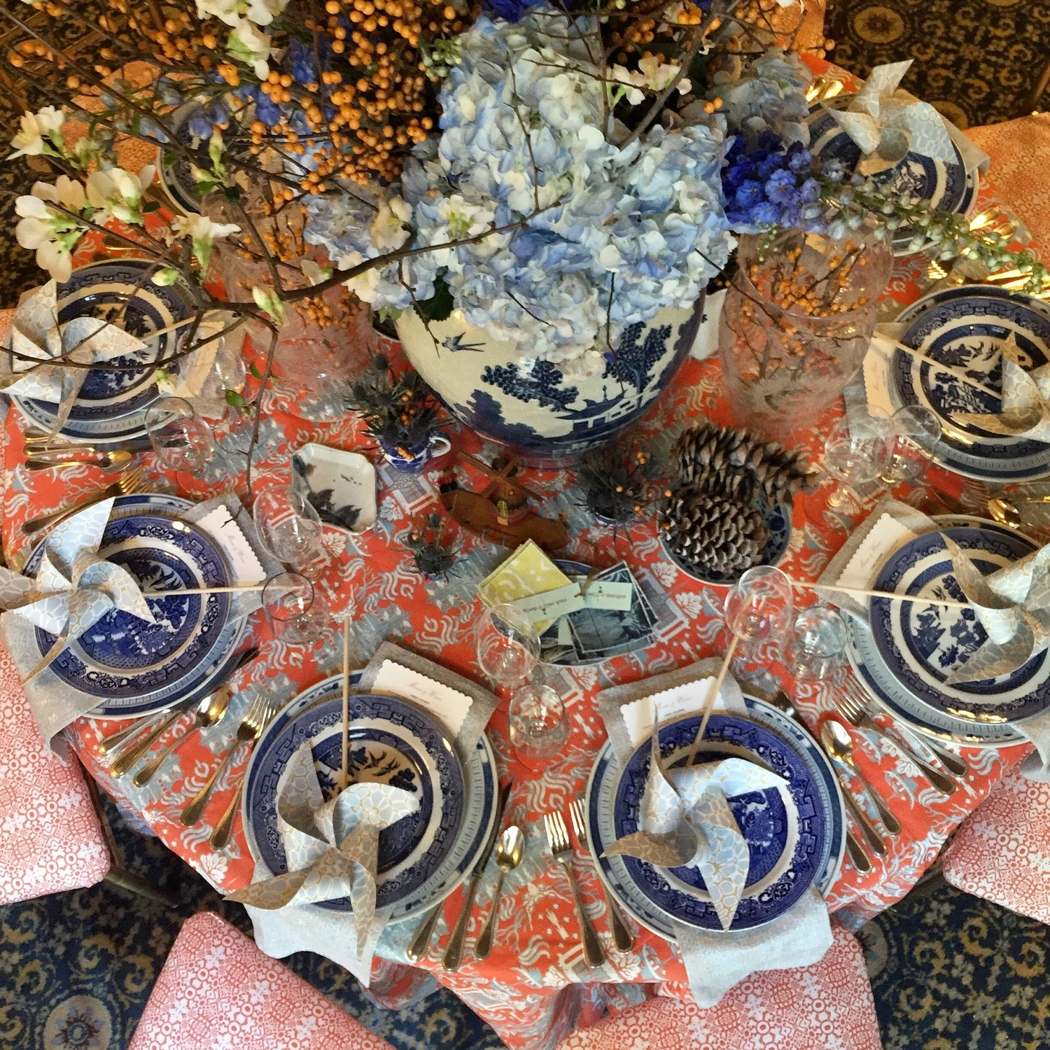 Holiday Table, Hope Lodge 2015