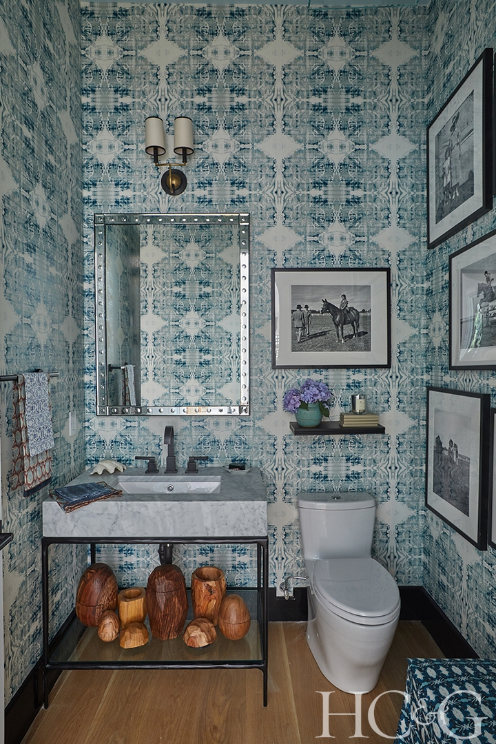 thanks for visiting our powder room design Summer, 2019 at Holiday House Hamptons at 19 Wildgoose Lane, Watermill, NY -