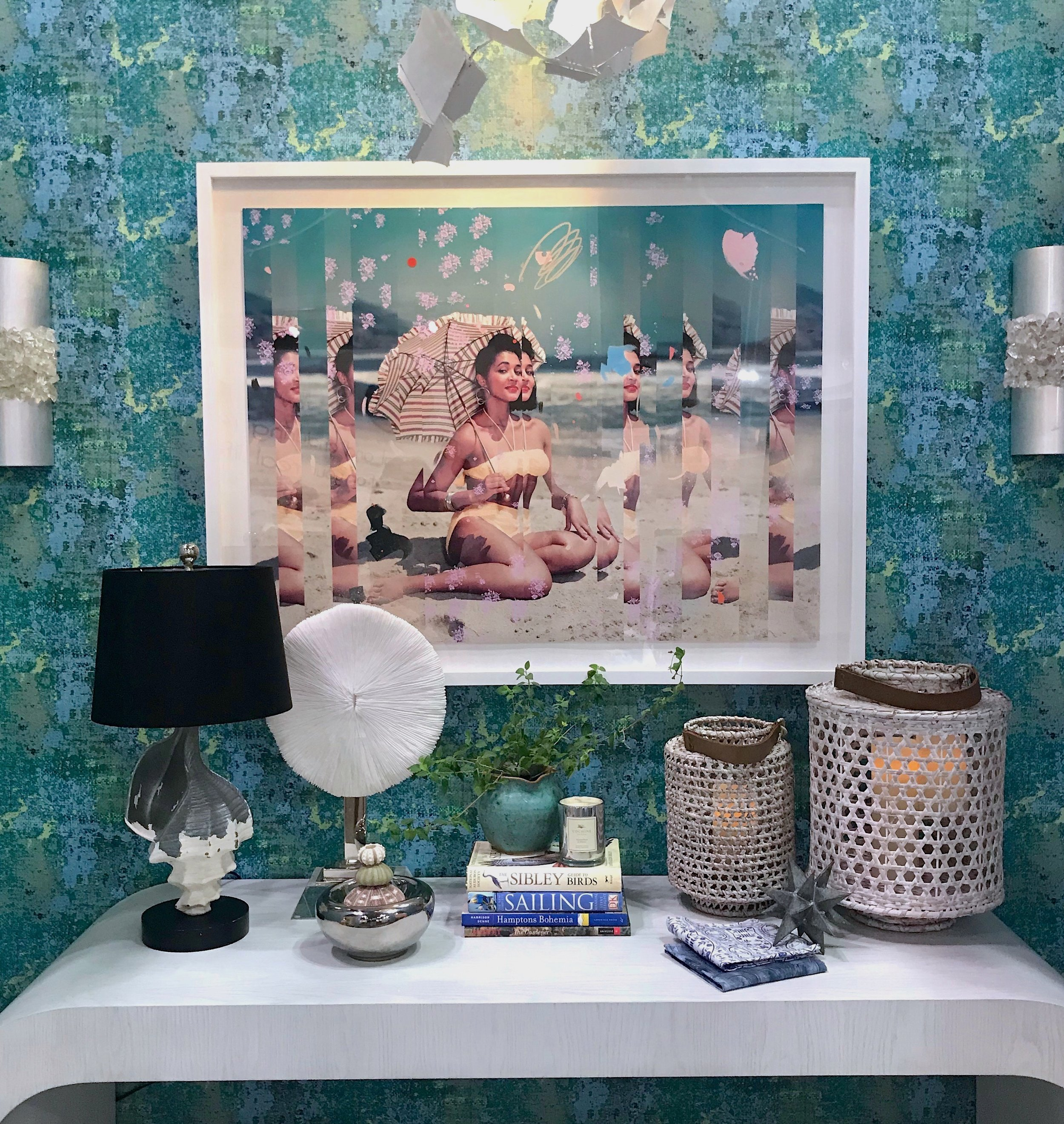 Thanks for visiting us at the NYNOW August, 2019 trade show at the Jacob Javits Center to see our foyer vignette -