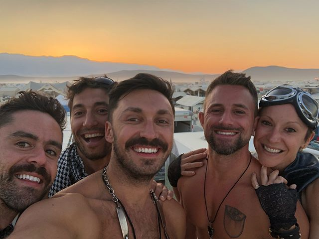 #tbt I couldn't have asked for a better camp to experience my first Burning Man with! From sunrise to sunset they always made sure I was having a blast.  Love you guys! 😘😘😘#CampBeBothered #isharoundtheworld