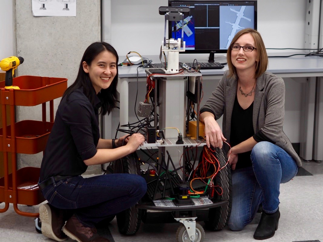 Diligent Robotics raises $2.1M in a Seed Round led by True Ventures. - January 11, 2018We're thrilled to support Dr. Andrea Thomaz and Dr. Vivian Chu as they build socially intelligent service robots for improving hospital operations &care.