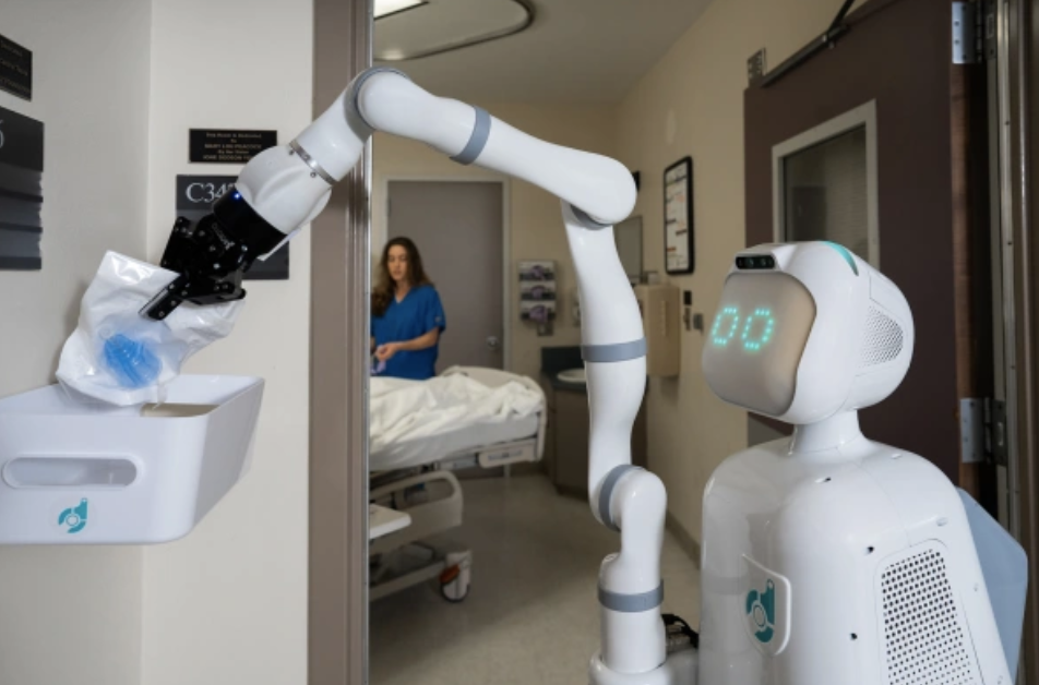 A hospital introduced a robot to help nurses. They didn't expect it to be so popular - Fast CompanyJuly 2019
