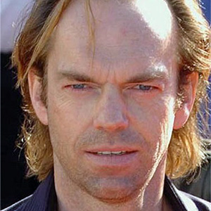 Hugo Weaving. Resemblance: 90%.
