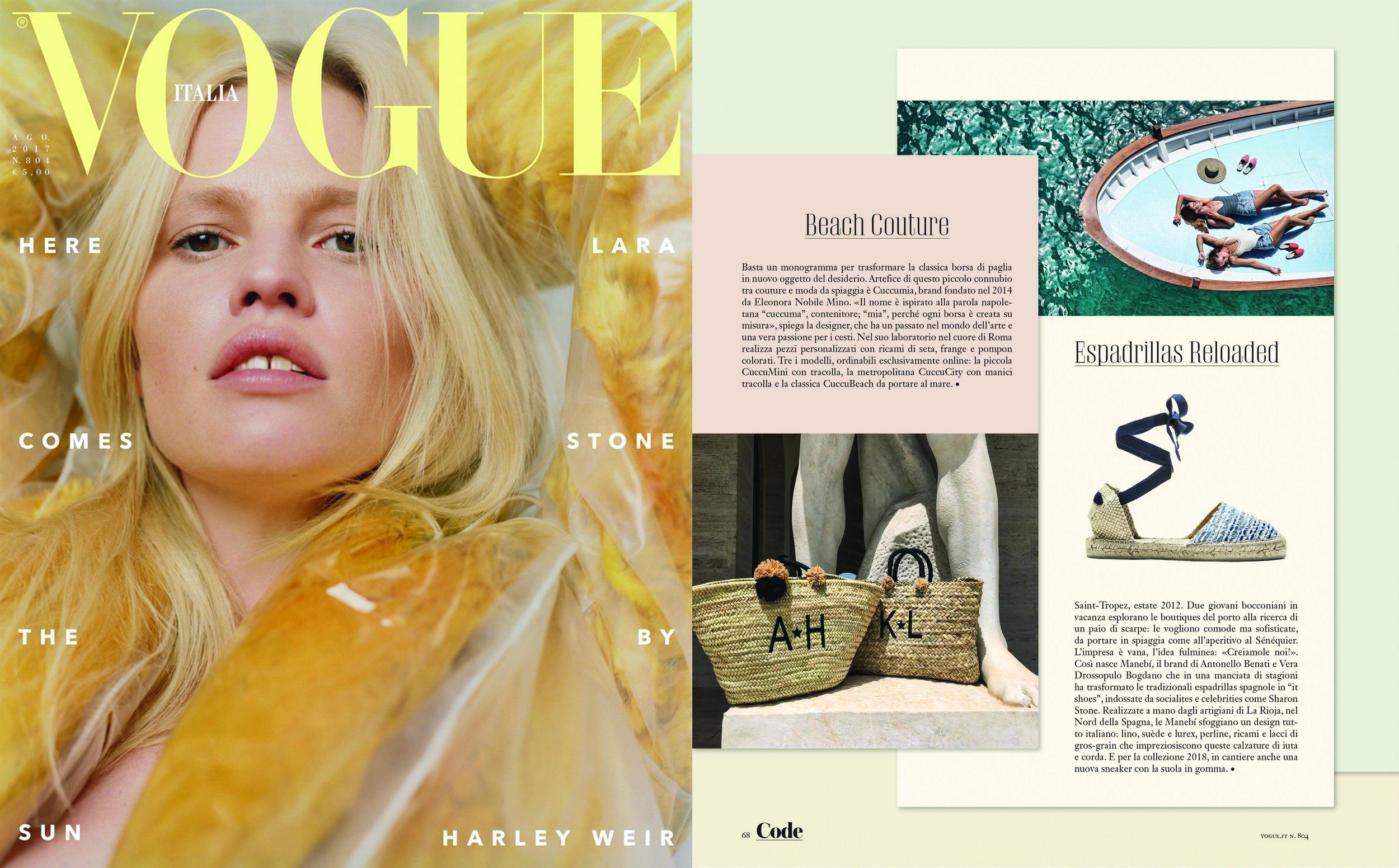 Vogue (august 2017)