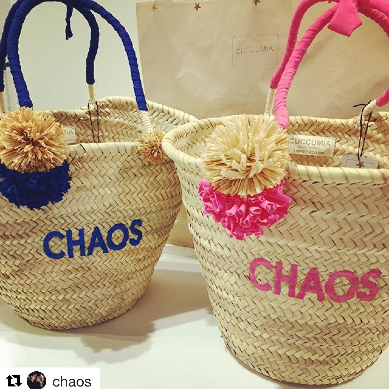Chaos Fashion -Charlotte Stockdale and Katie Lyall