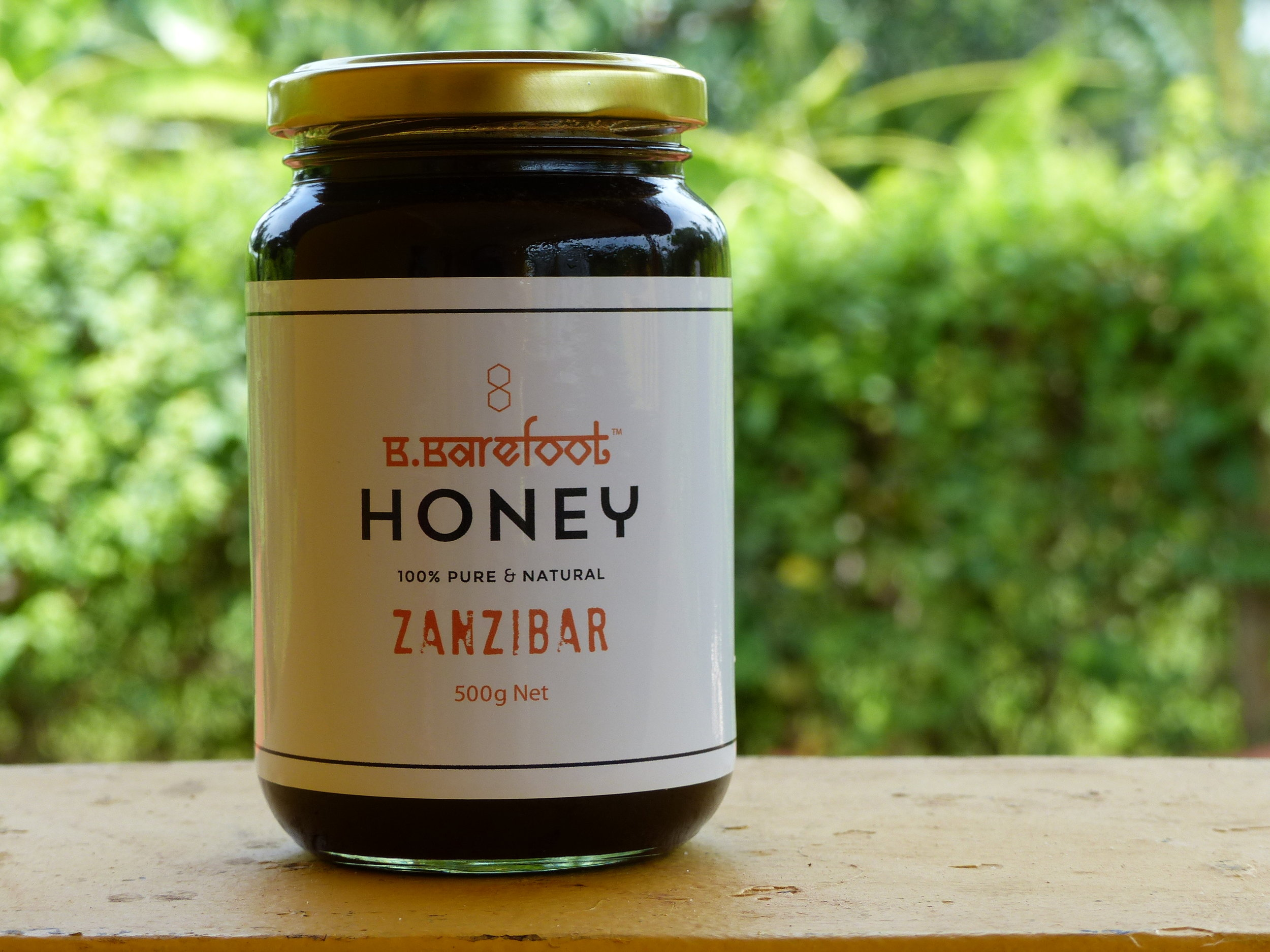 B.BAREFOOT HONEY LARGE (500g)