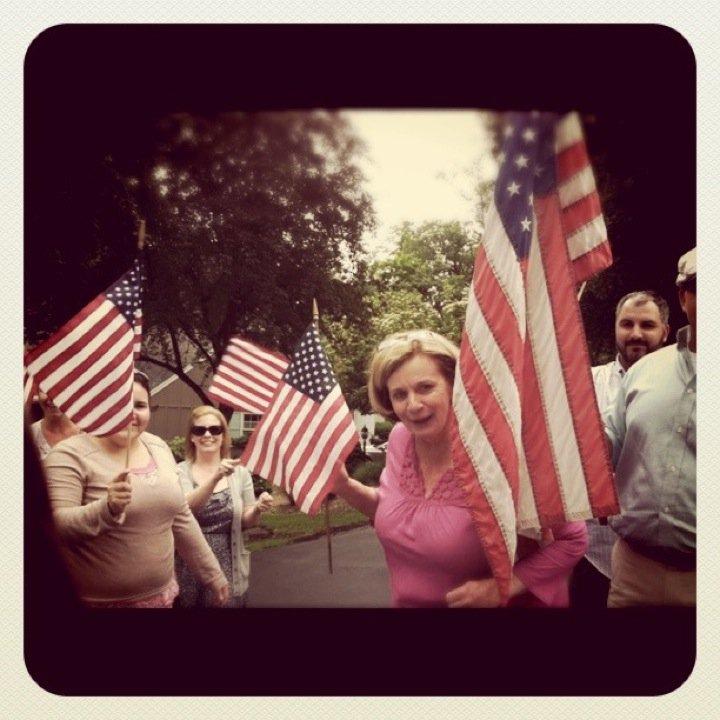 An American greeting