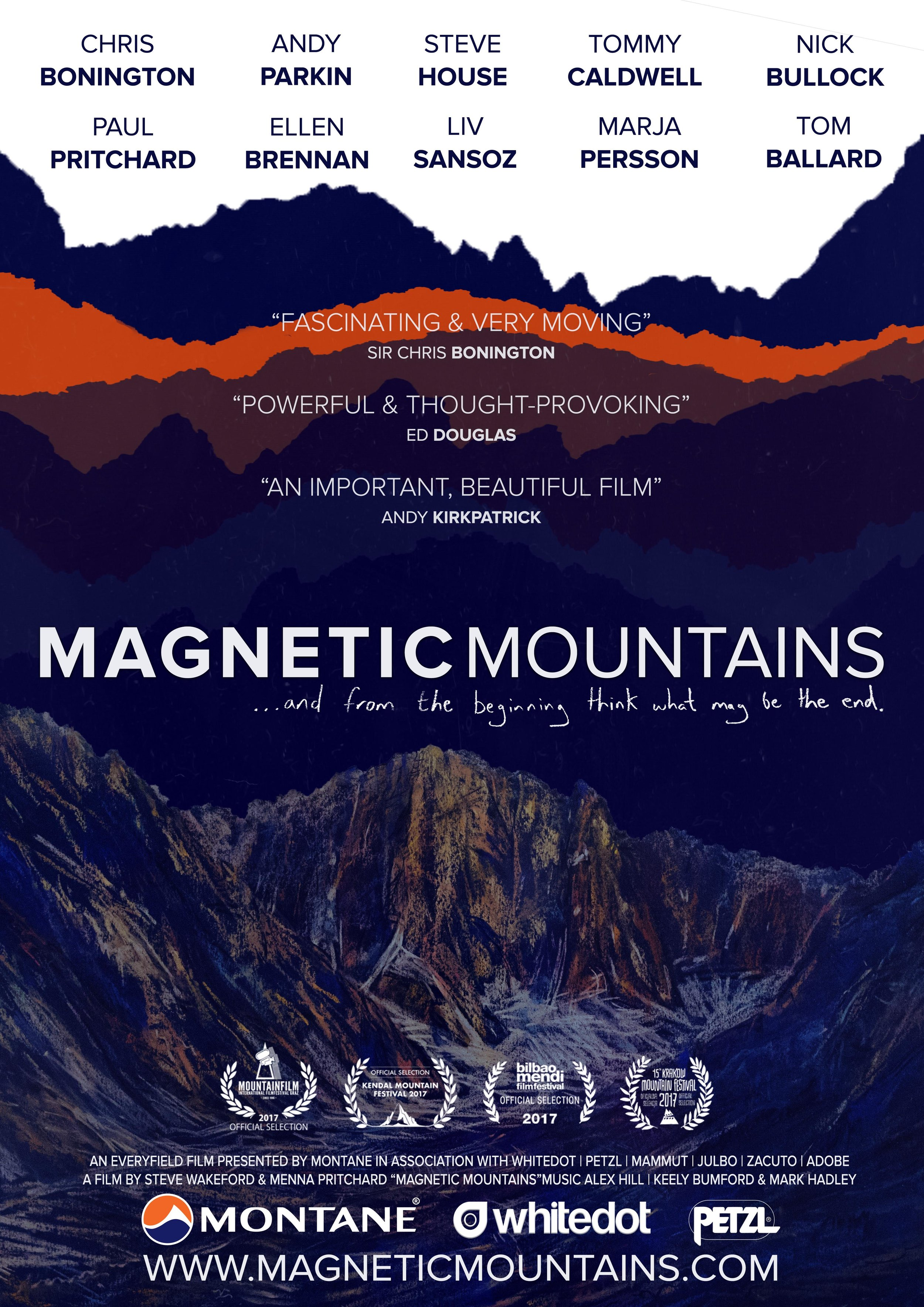 Magnetic Mountains Official Poster