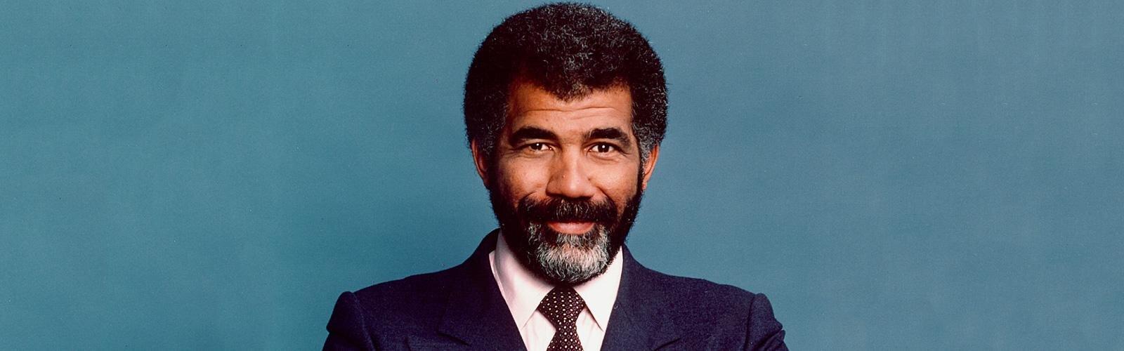 American television journalist Ed Bradley, 1981. Photo by CBS Photo Archive/Getty Images