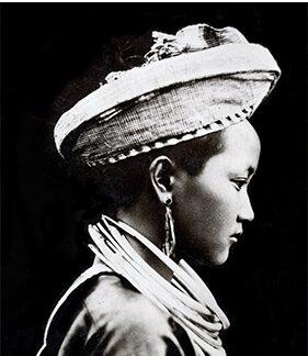 Portrait of a Hmong girl in Laos, 1920s. Courtesy Noah Vang, St. Paul