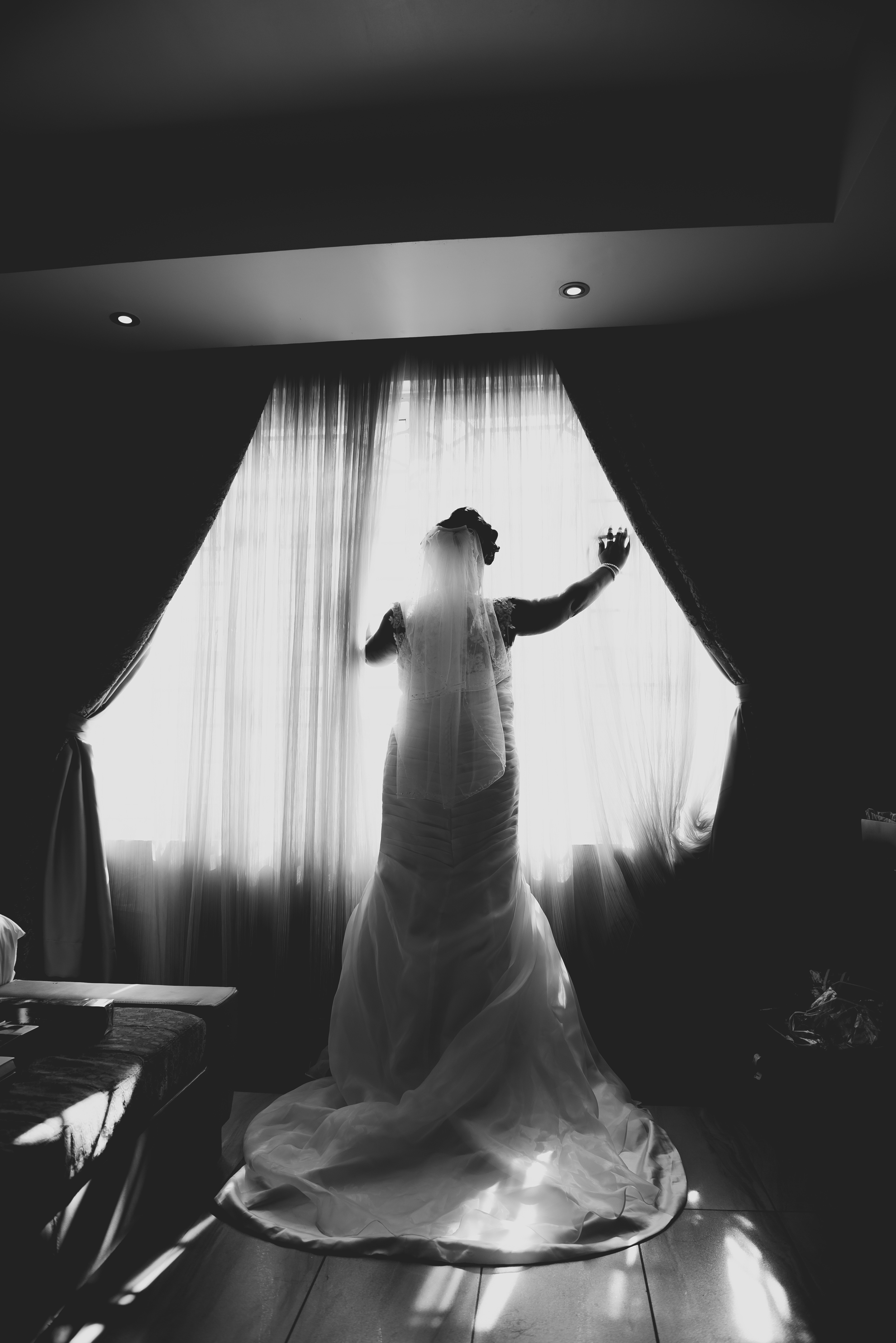 9ja Brides, Getting Ready Pictures in Hotel - Top Lagos Wedding Photographer,