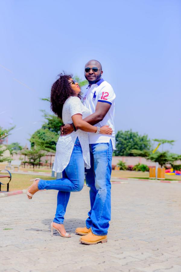 Beautiful Pre-Wedding Photos In Lagos