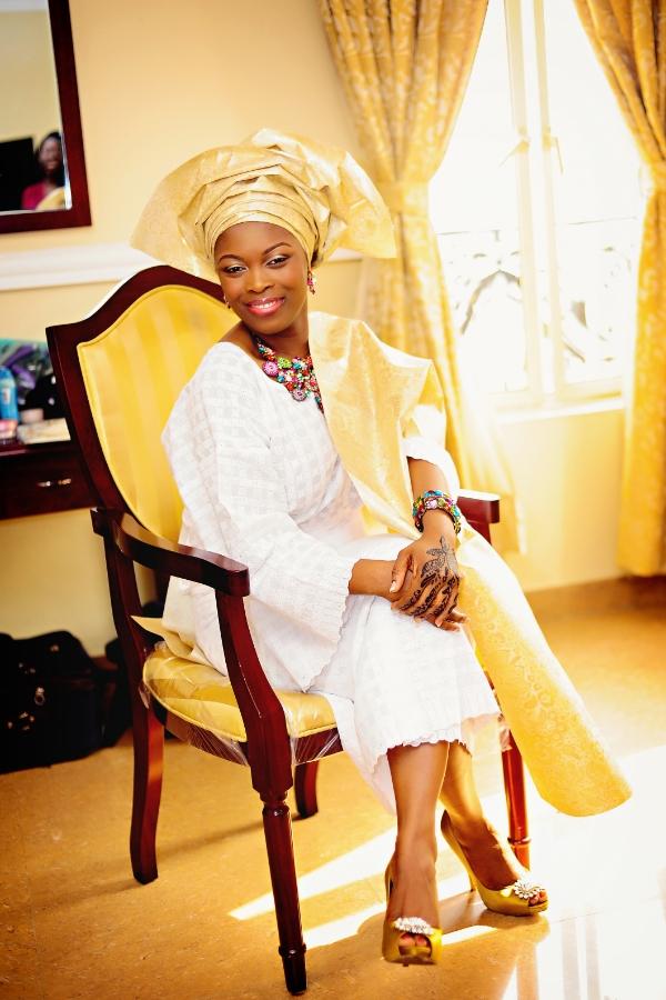 Nigerian Bride At De Renaissance Hotel, Lagos