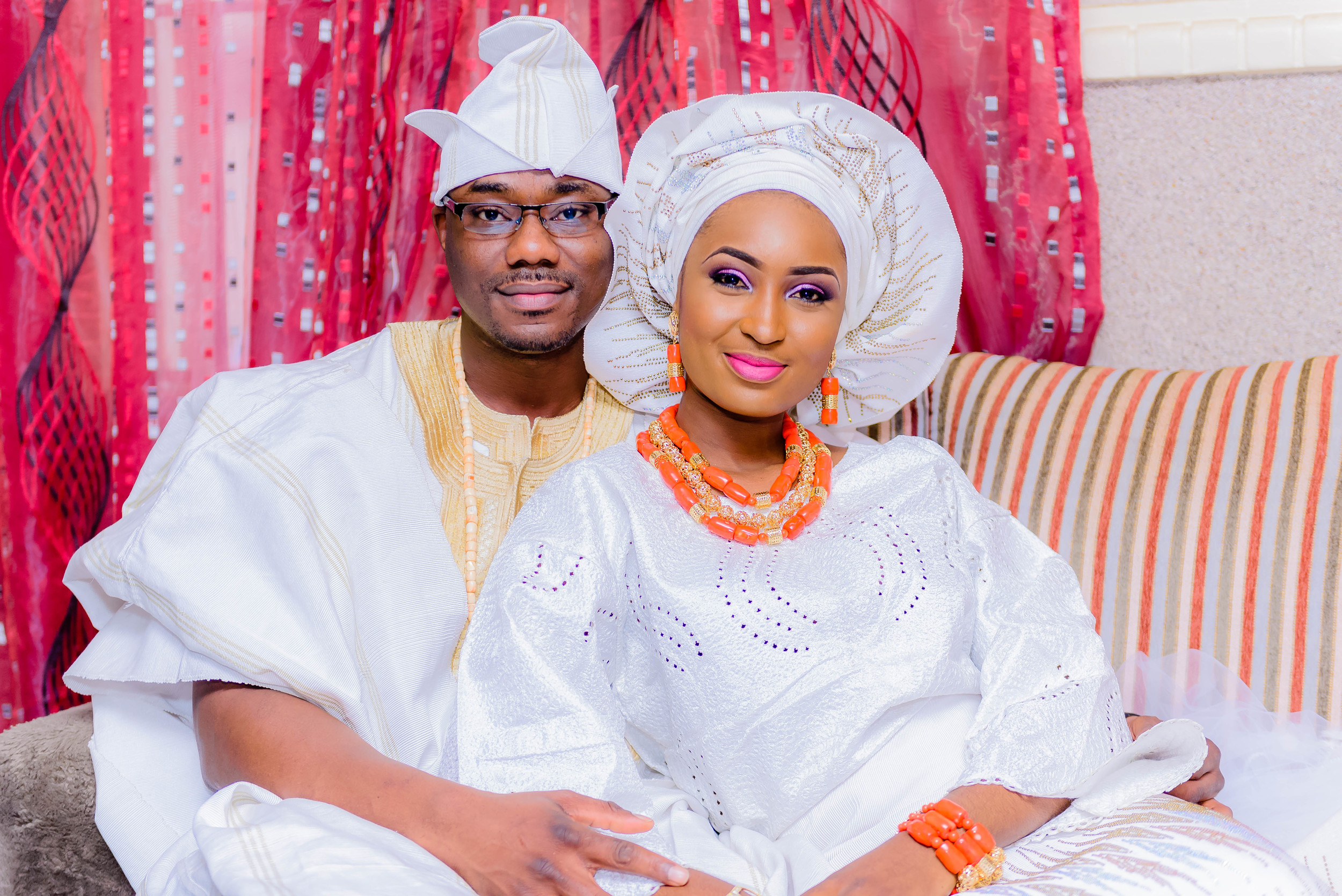Beautiful Nigerian Couple In Ilorin, Kwara State - Ilorin Wedding Photographer