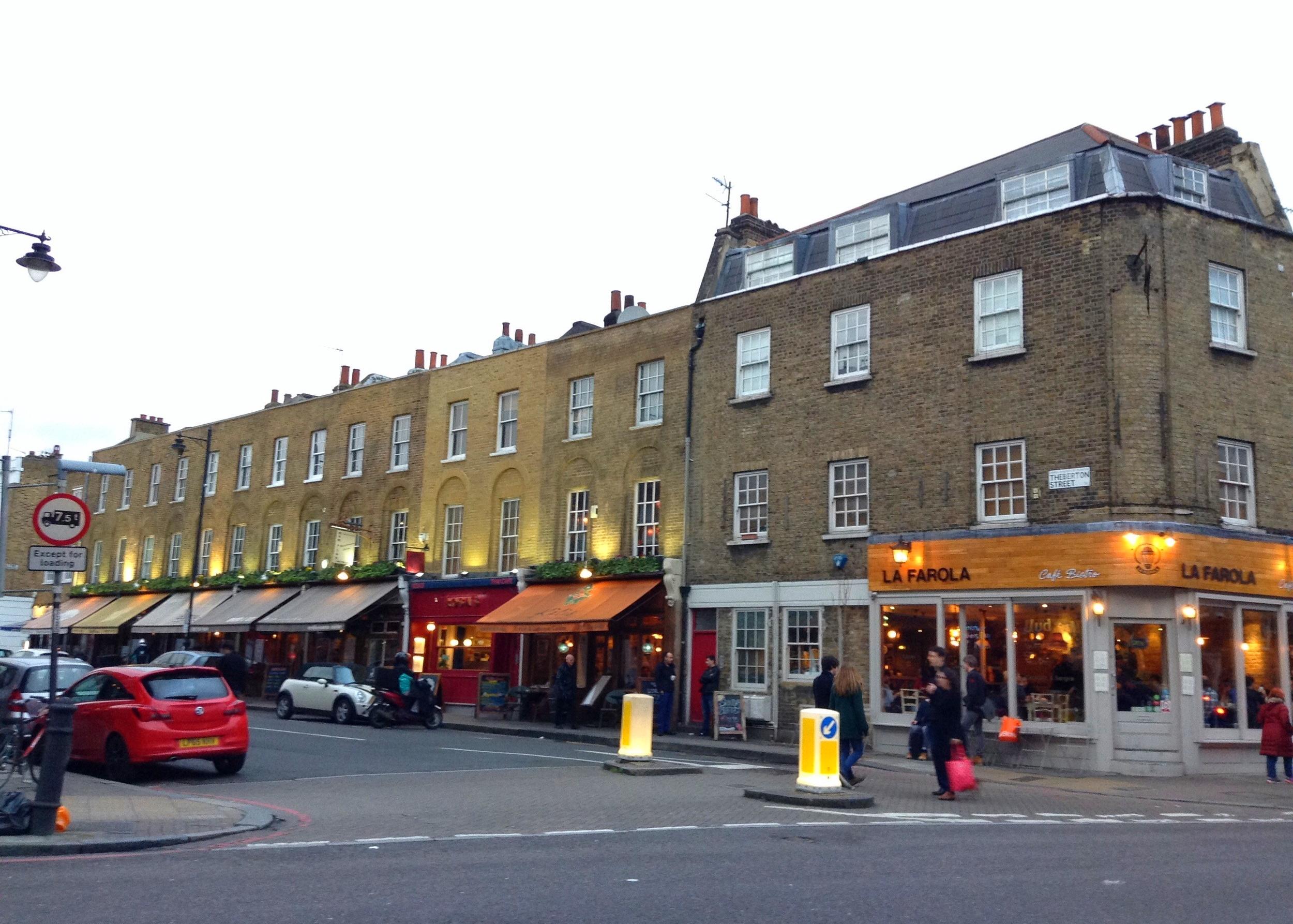 Islington's Upper Street