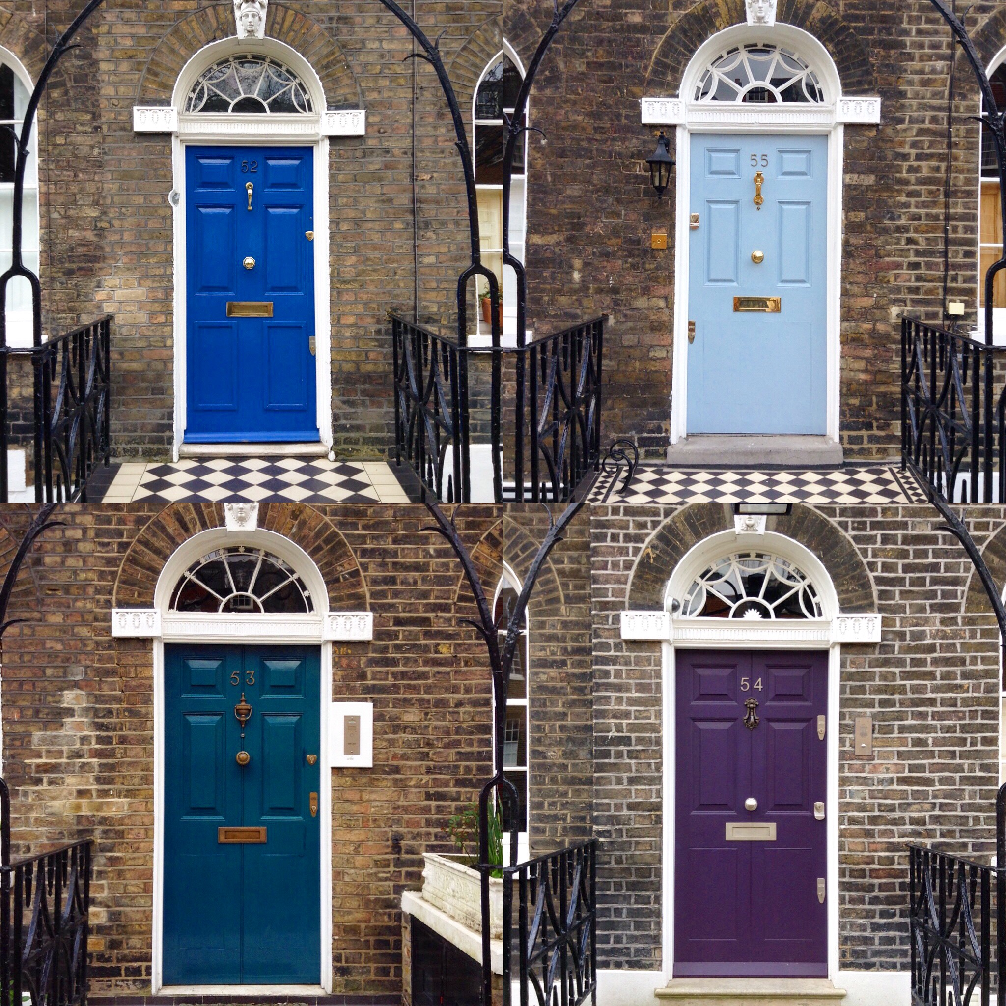 Doors on Charlton Place