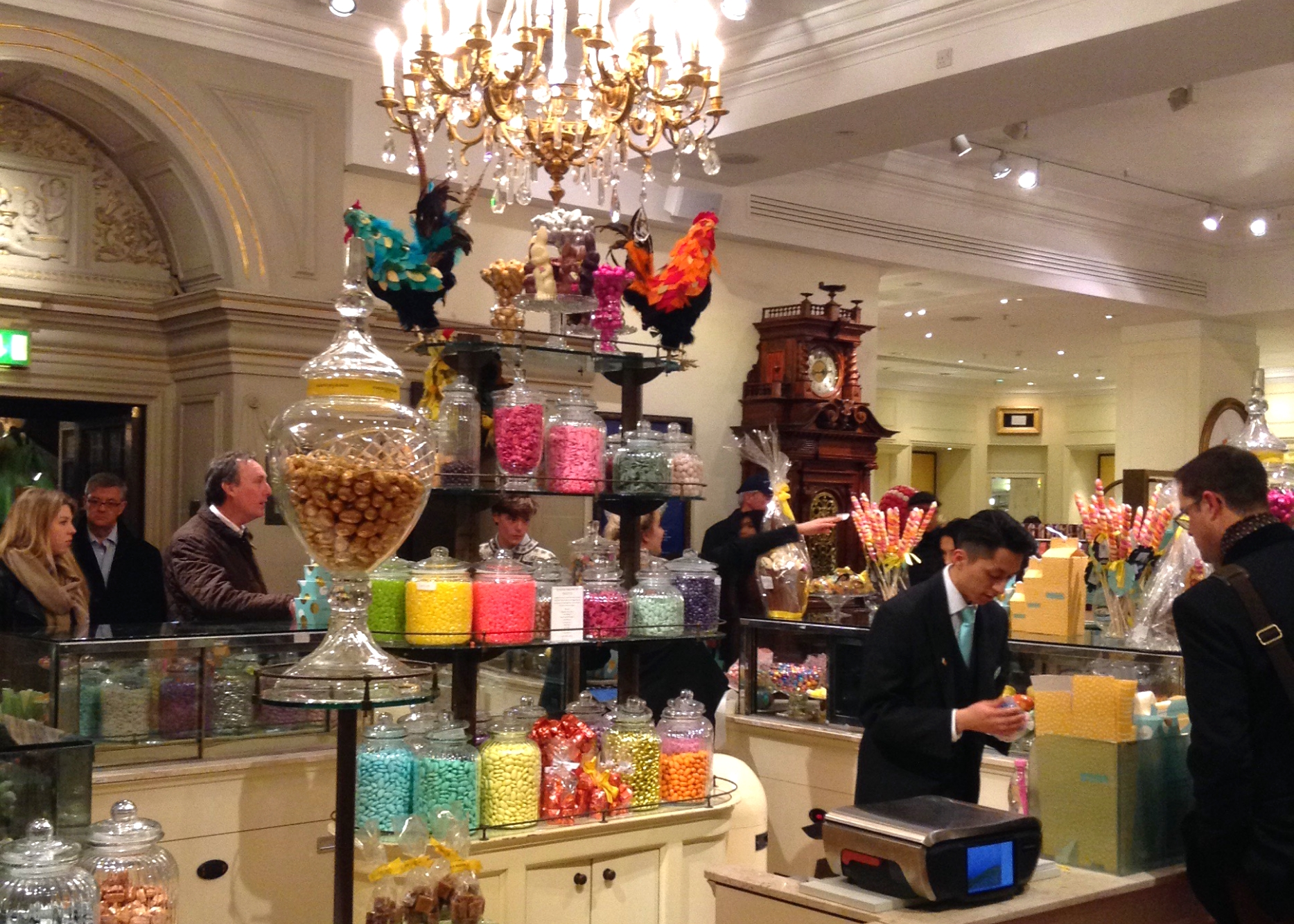 Fancy Candy at Fortnum and Mason