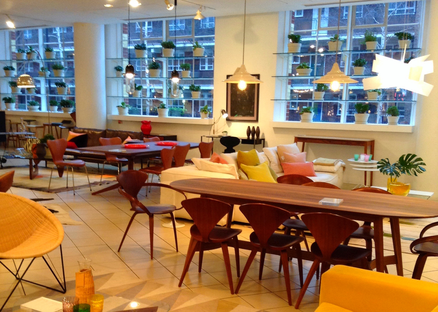Dining and Living at The Conran Shop