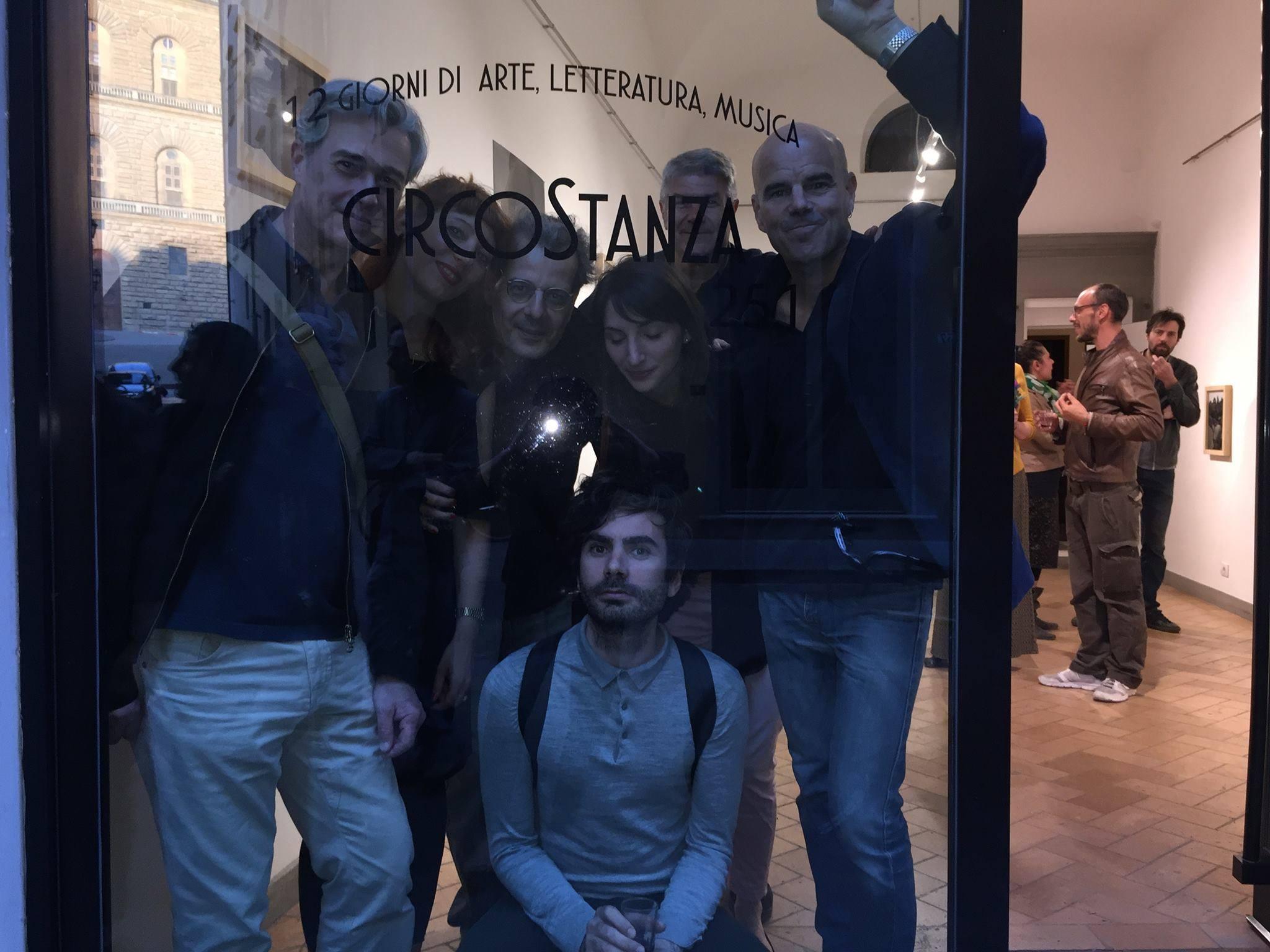 Primo giorno -da sinistra: Carlo Zei, Bärbel Reinhard, Stefano Loria, Simone Lisi, Lavinia Ferrone, Sergio Tossi, Matthew Licht