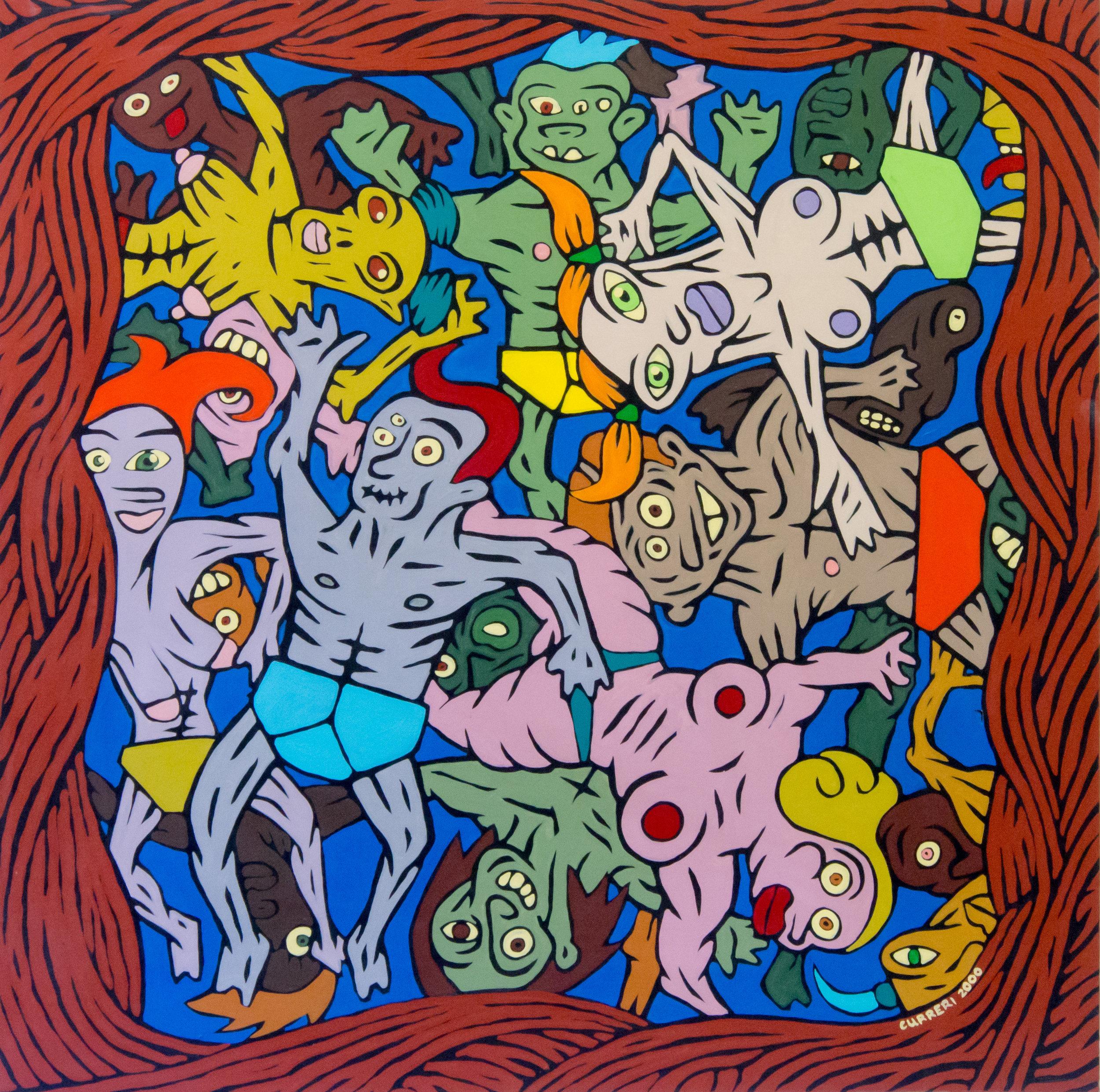 Opera di Giordano Curreri (collezione di Sergio Tossi)