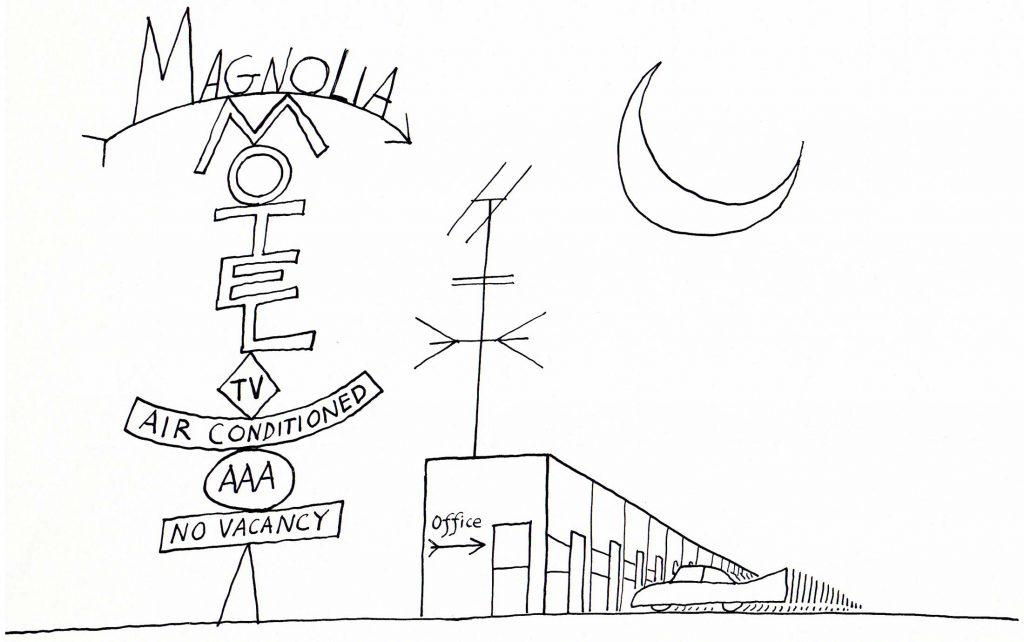 La lettera M non Mi è Mai stata aMica, a parte Milano. Ma l'AMerica greMita di Macchine e Motel l'ho capìta.