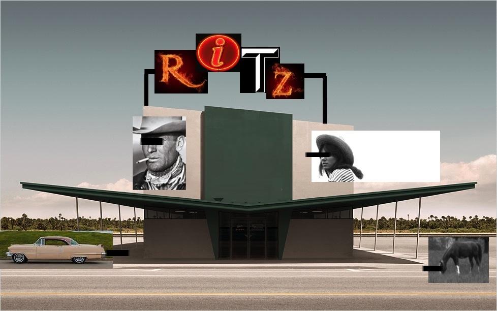 The Ritz Motel, Fried Egg City, Oklahoma