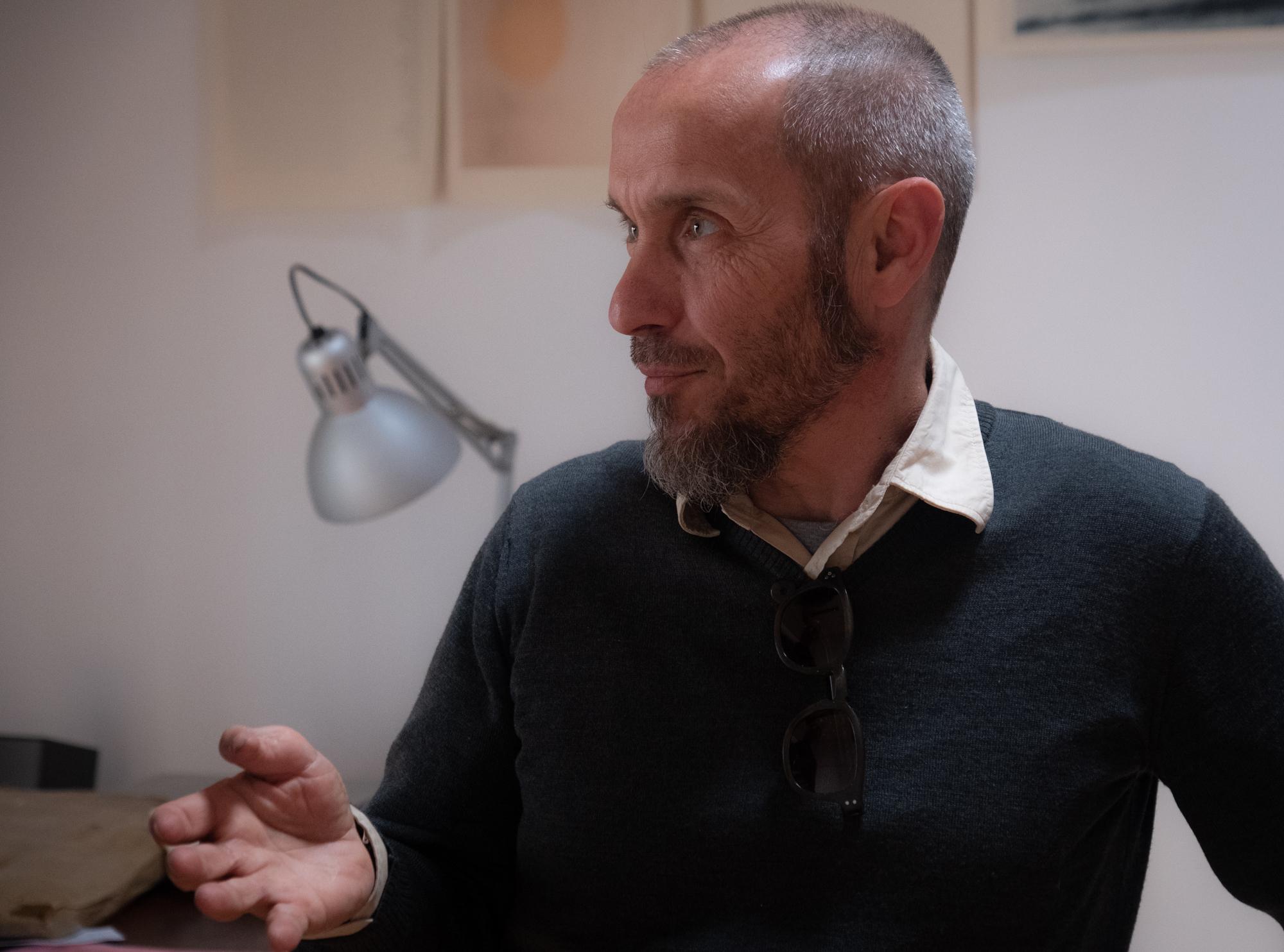 Valentino Barachini fotografato da Carlo Zei