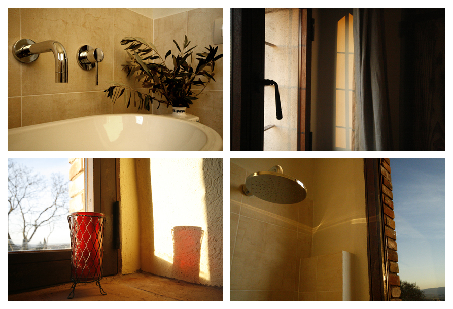 Bathroom details Siliano Alto EAT.PRAY.MOVE Yoga Retreats | Tuscany, Italy