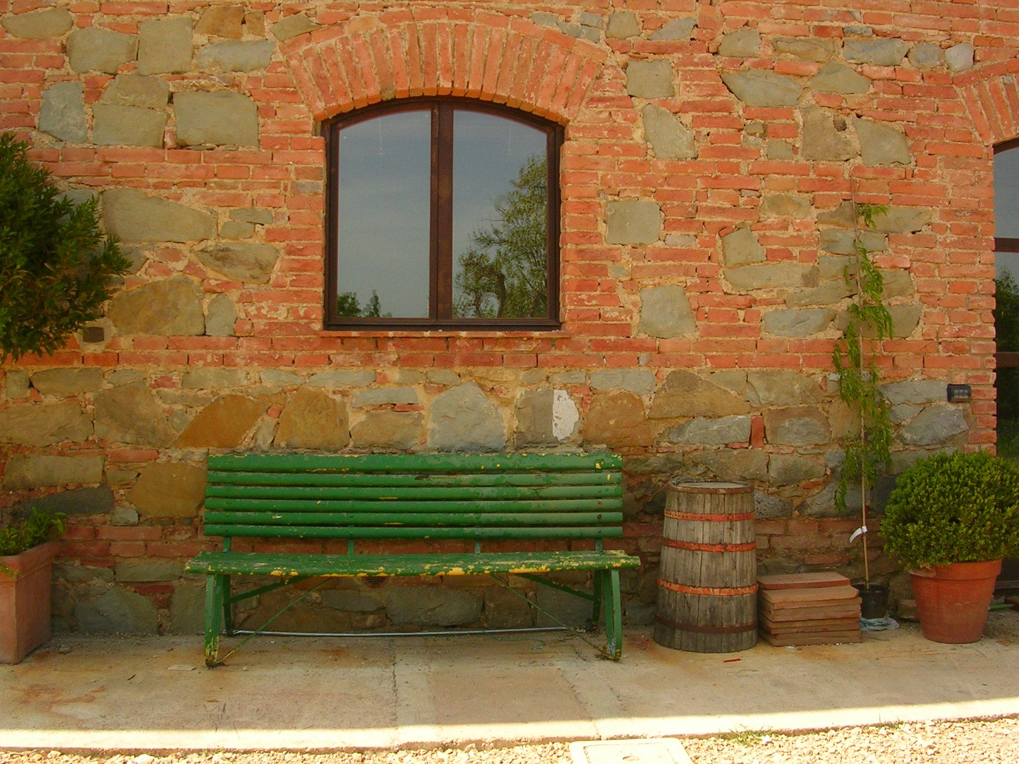 Antique bench Siliano Alto EAT.PRAY.MOVE Yoga Retreats | Tuscany, Italy