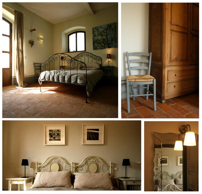 Bedroom comforts Siliano Alto EAT.PRAY.MOVE Yoga Retreats | Tuscany, Italy