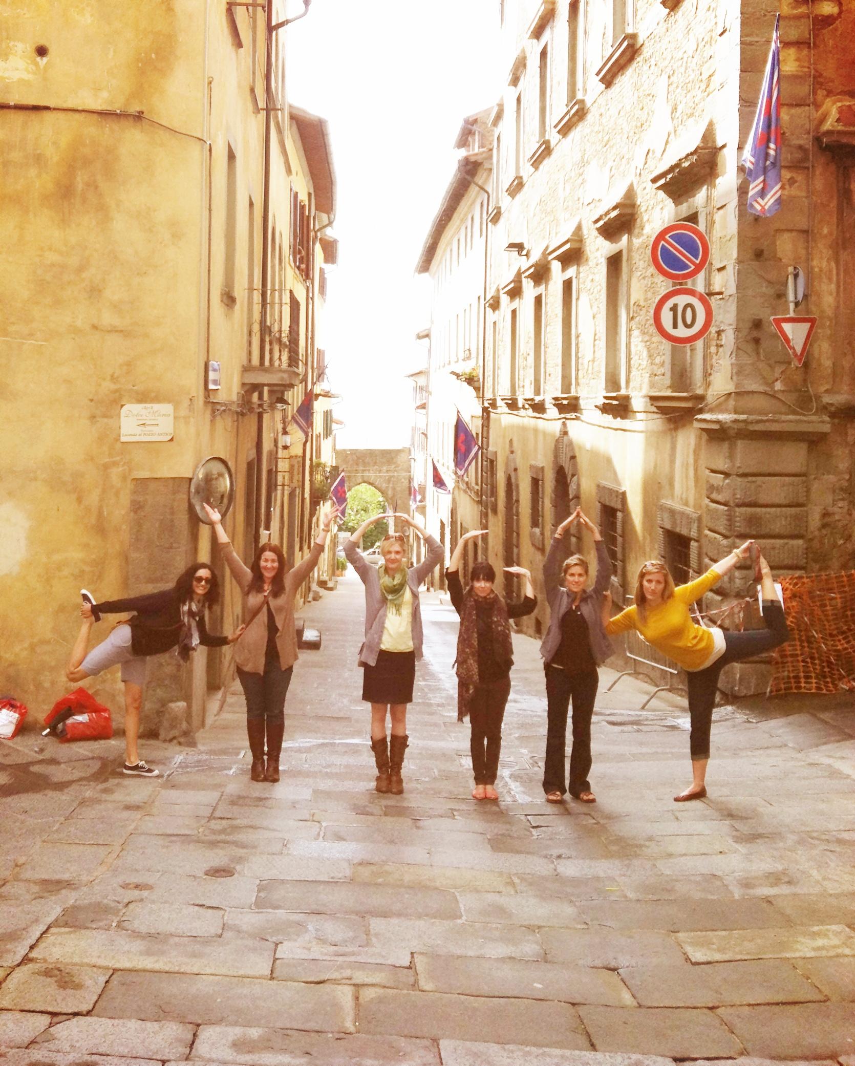 Y.O.G.A in Tuscany EAT.PRAY.MOVE Yoga Retreats | Tuscany, Italy