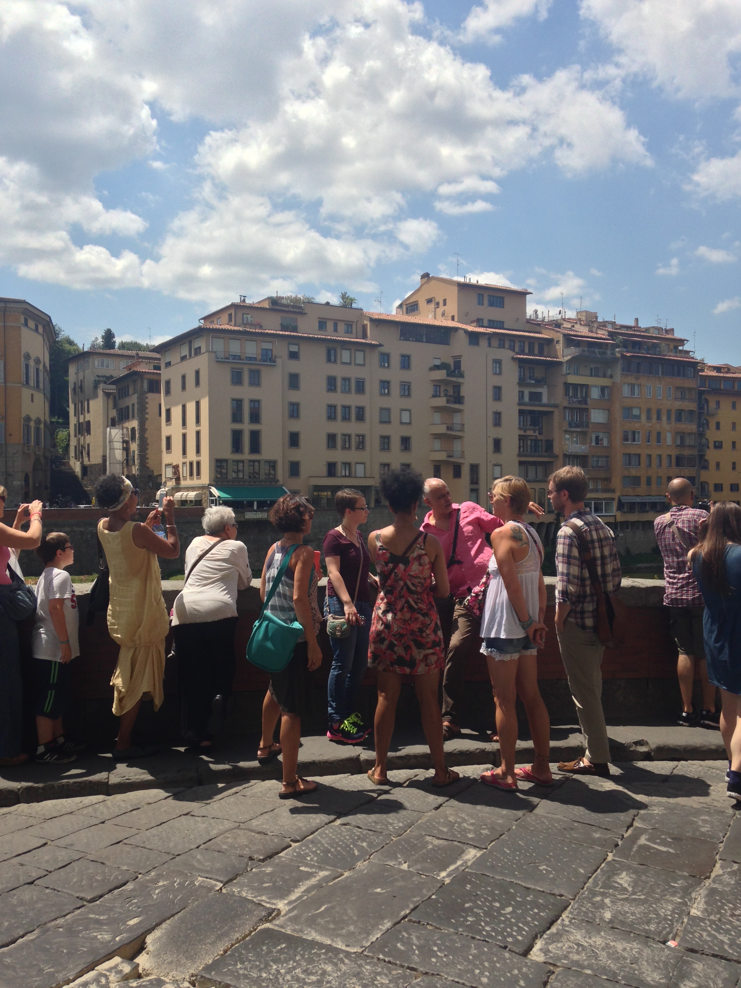Guests learn about the history of the area EAT.PRAY.MOVE Yoga Retreats | Tuscany, Italy