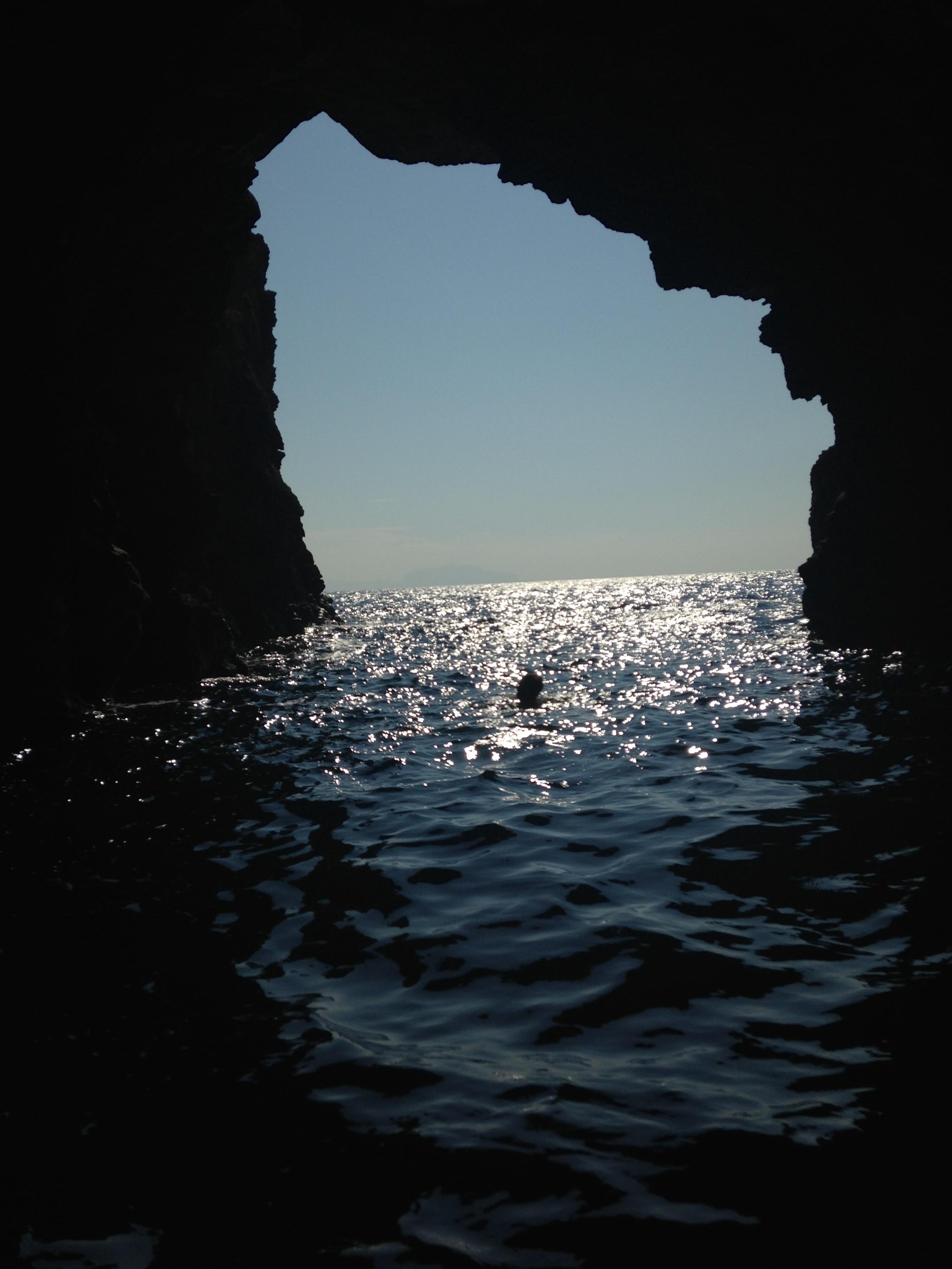 Grotto swimming | EAT.PRAY.MOVE Yoga Retreats | Ischia, Italy