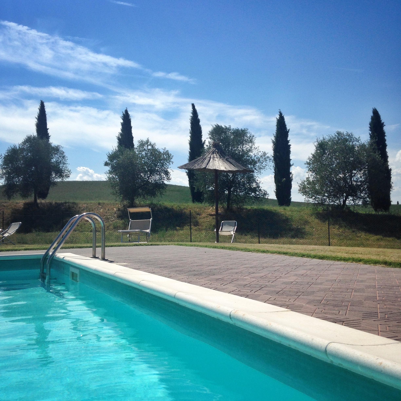 Take a dip in the pool Siliano Alto EAT.PRAY.MOVE Yoga Retreats | Tuscany, Italy