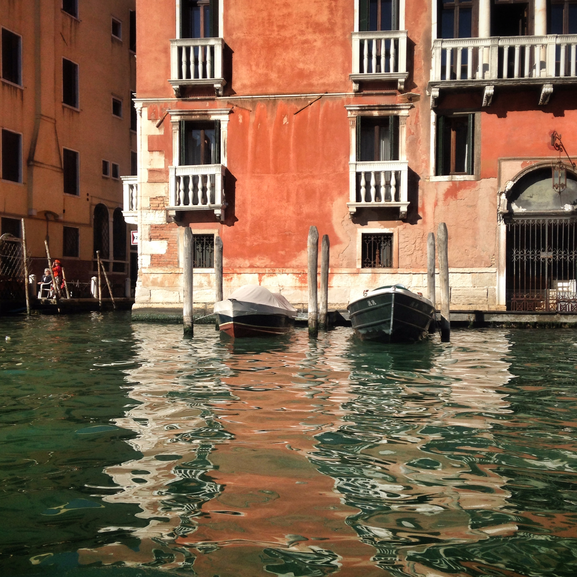 Historic walls by the water | EAT.PRAY.MOVE Yoga | Venice, Italy
