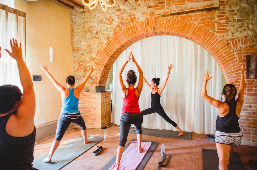 Asana at Siliano Alto EAT.PRAY.MOVE Yoga Retreats | Tuscany, Italy