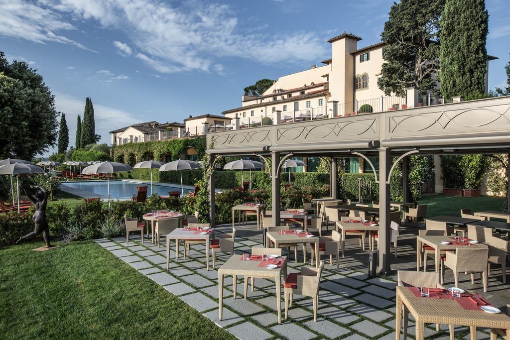Patio view Castello del Nero | EAT.PRAY.MOVE Yoga | Chianti, Italy
