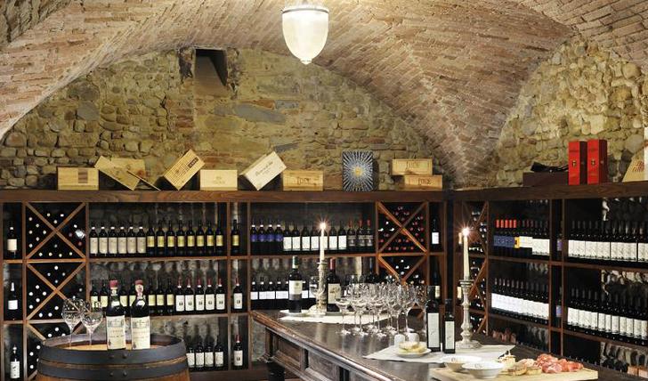 Wine cellar Castello del Nero | EAT.PRAY.MOVE Yoga | Chianti, Italy