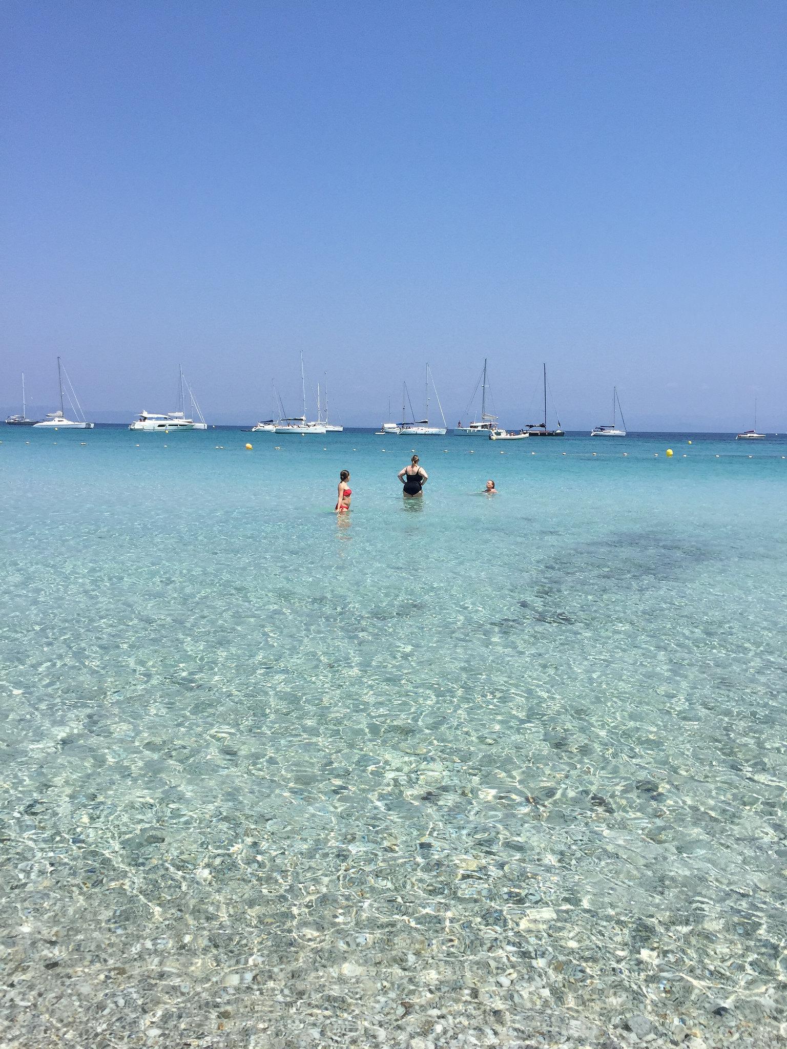 Clear beach waters EAT.PRAY.MOVE Yoga Retreats | Provence, France