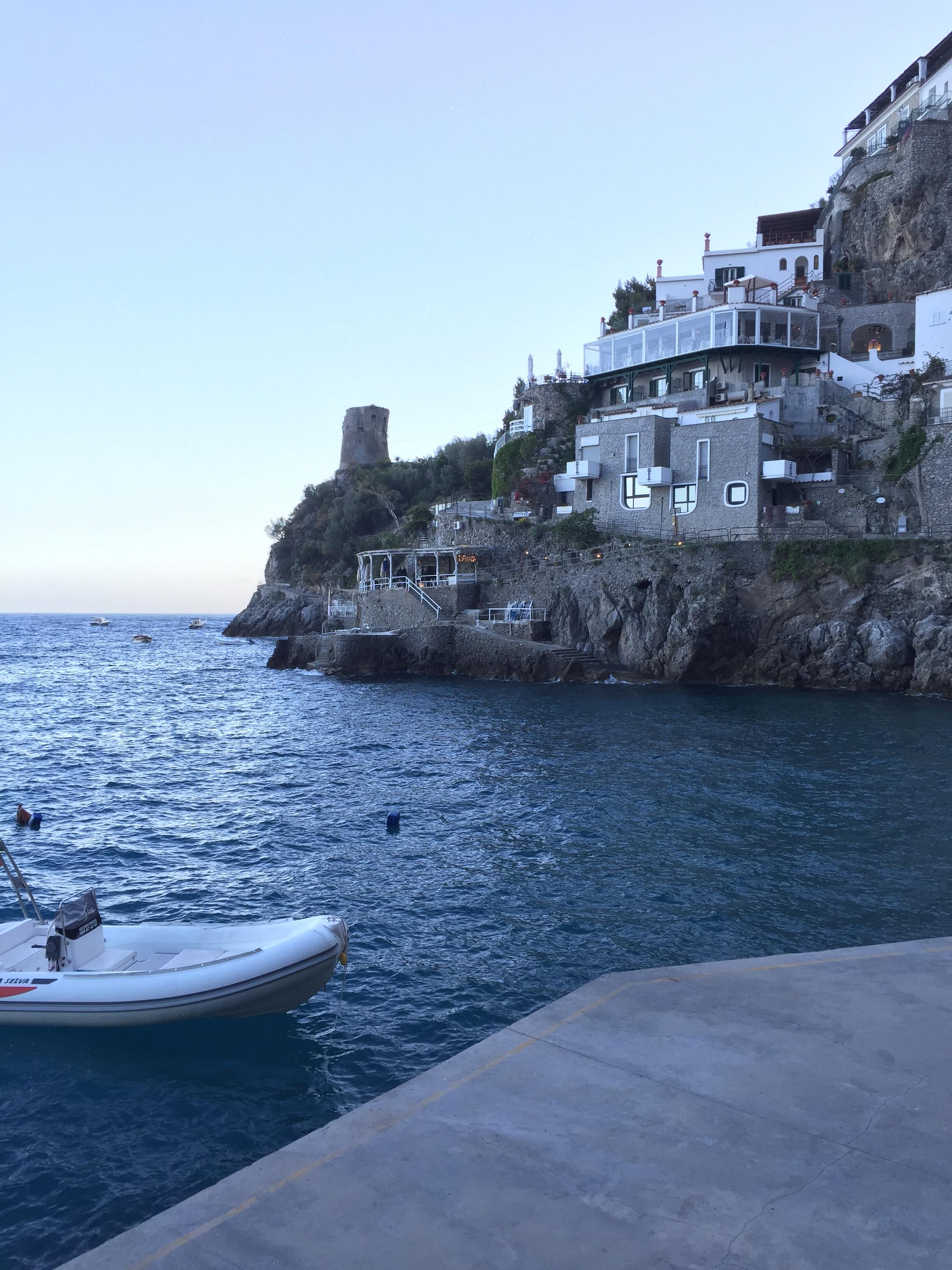 Tucked behind the town of Praiano EAT.PRAY.MOVE Yoga Retreats | Amalfi Coast, Italy