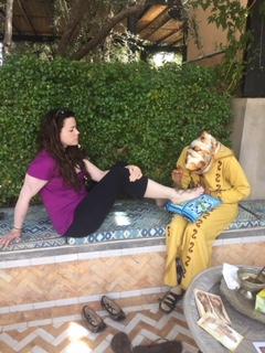 henna time | EAT.PRAY.MOVE Yoga Retreats | Marrakesh, Morocco