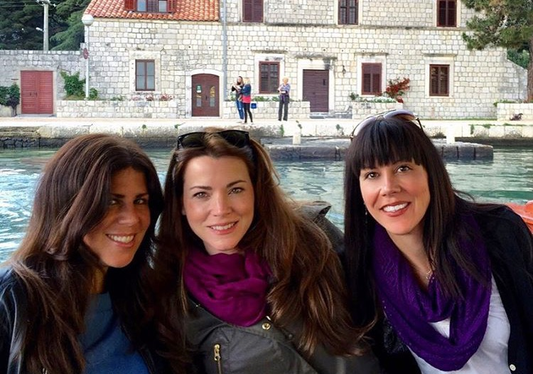 with fellow guests | EAT.PRAY.MOVE Yoga Retreats | Croatia