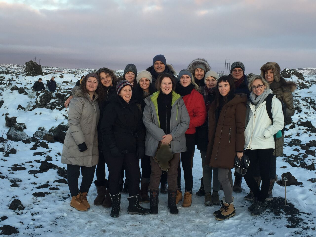 group in Iceland | EAT.PRAY.MOVE Yoga Retreats |