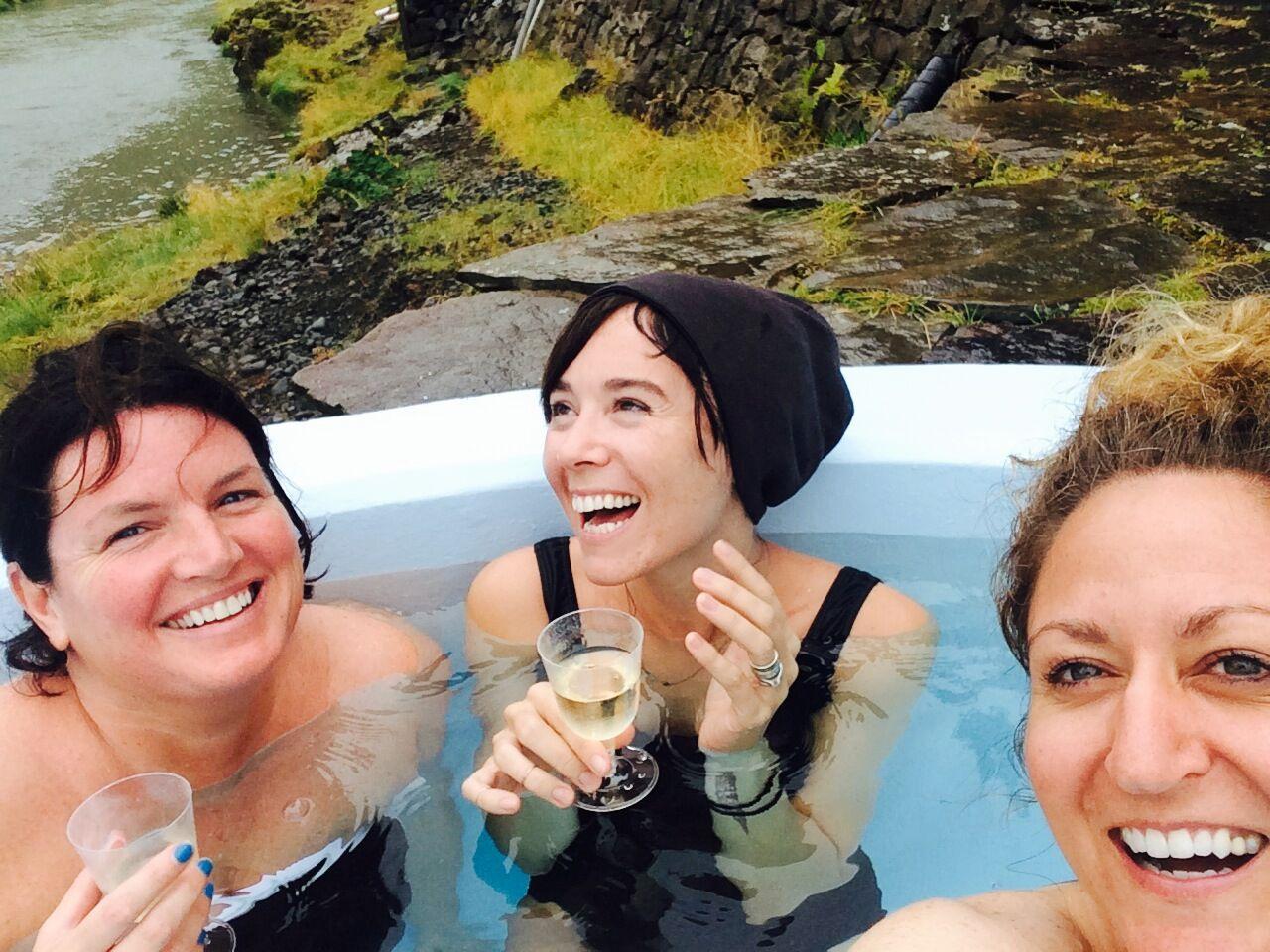 hot spa | EAT.PRAY.MOVE Yoga Retreats | Iceland