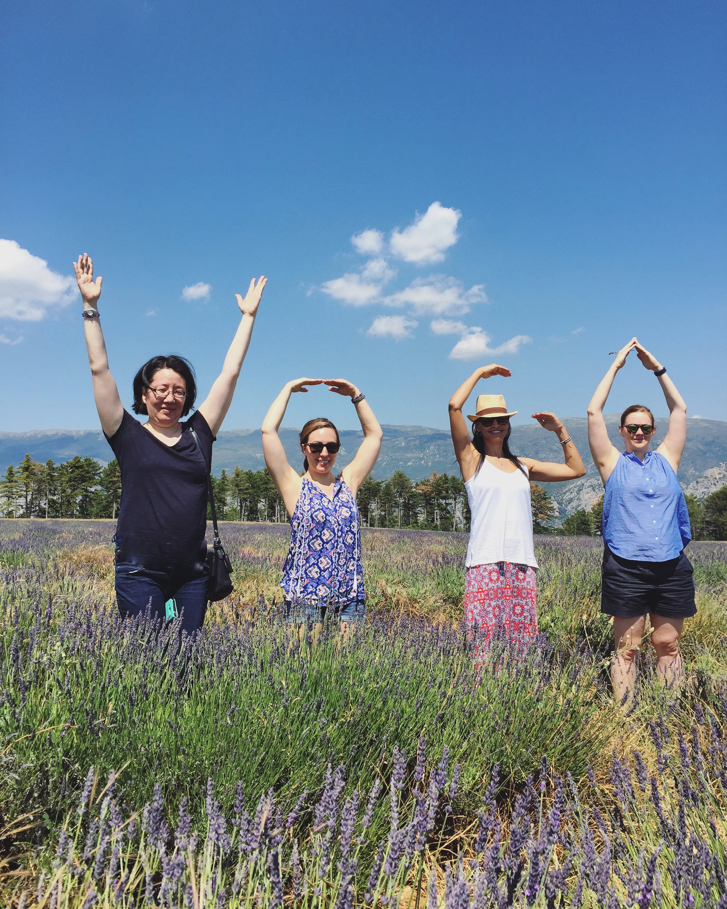 y.o.g.a in lavender | EAT.PRAY.MOVE Yoga Retreats | Provence, France